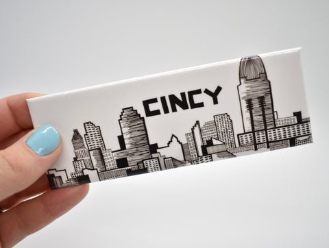 Cincy Skyline Magnet