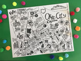 Ohio City Map