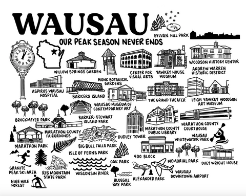Wausau Wisconsin Map