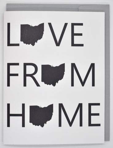 Love From Home Card