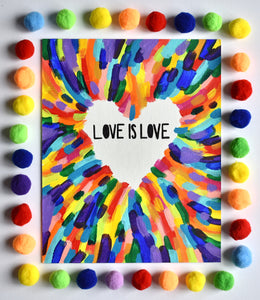 Love is Love Painting