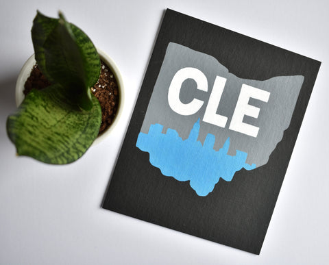 CLE Ohio Painting