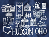 Hudson Ohio Tote Bag
