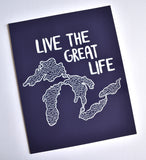 Live the Great Life Print