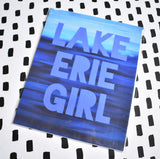 Lake Erie Girl Print