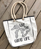 Live the Great Life Tote Bag