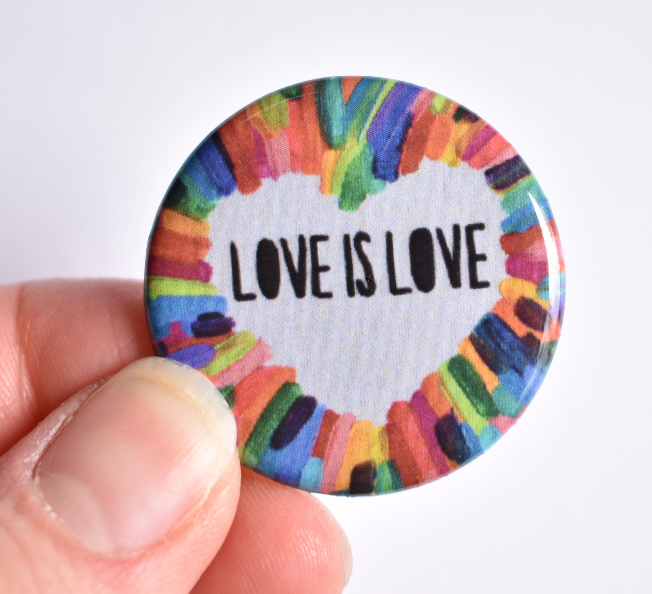 Love is Love Button