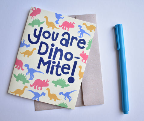 You are Dino Mite Card