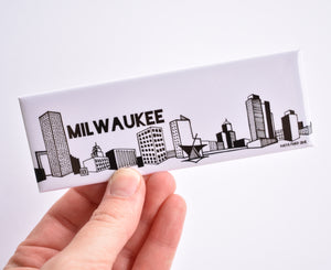 Milwaukee Skyline Magnet