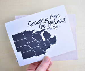 Greetings from the Midwest Card