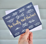 You Finally Tied the Knot Card