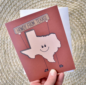 Howdy from Texas Card