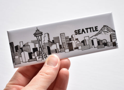 Seattle Skyline Magnet