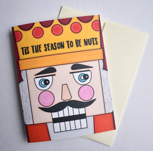 Tis the Season to be Nuts Card