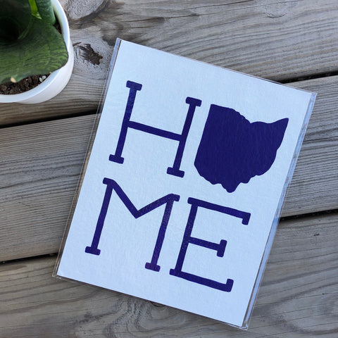 Purple on White Ohio Home Painting