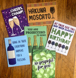 Wine Pun Greeting Card Pack