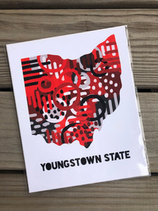 Youngstown college print
