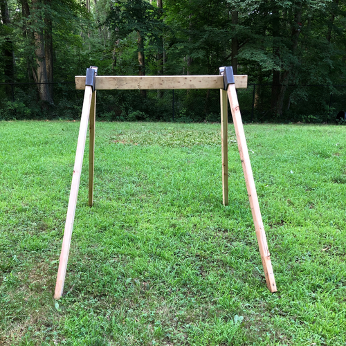 2x4 A-Frame Stand (No Target)