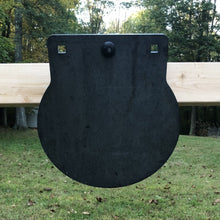 12 inch AR500 steel target - 3/8 gong with center mount option