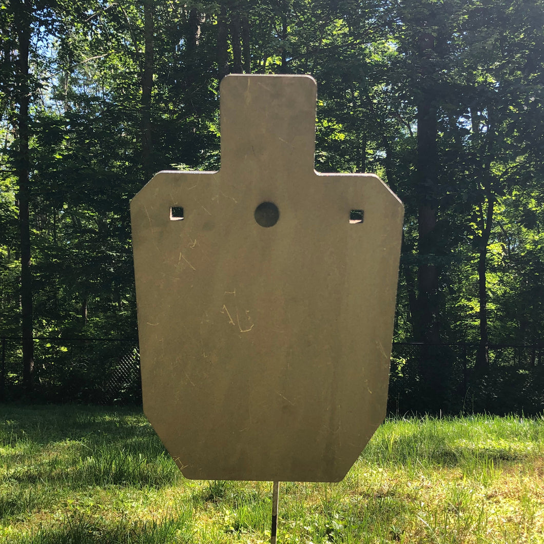 Red Hound Steel Targets 66% IPSC Silhouette