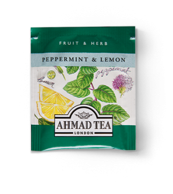 ahmad tea peppermint and lemon