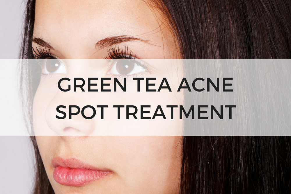 green tea acne spot treatment