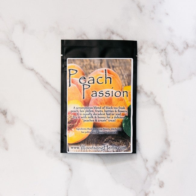 Woodsong Herbs Peach Passion