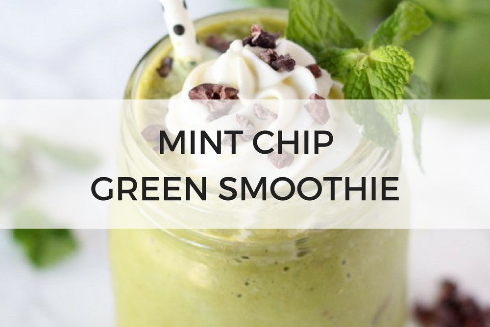 mint chip green smoothie