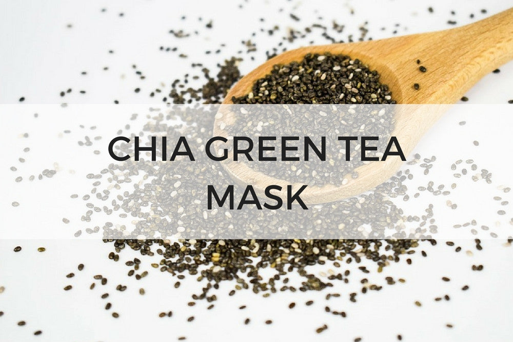 chia green tea mask