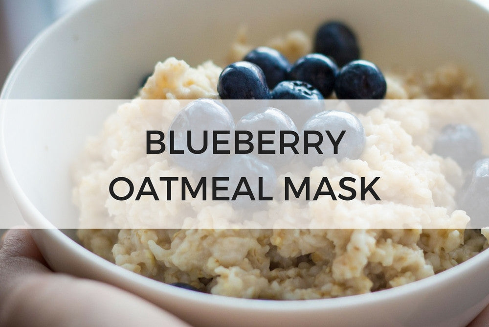 blueberry oatmeal mask