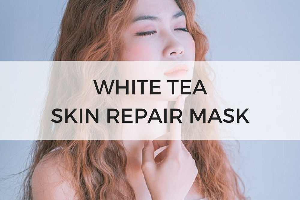 white tea skin repair mask