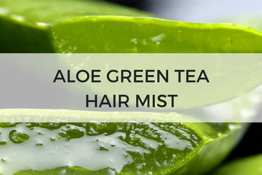 aloe green tea hair mist