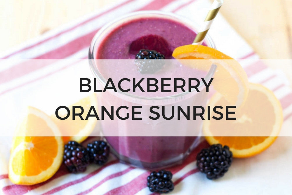 Blackberry Orange Smoothie