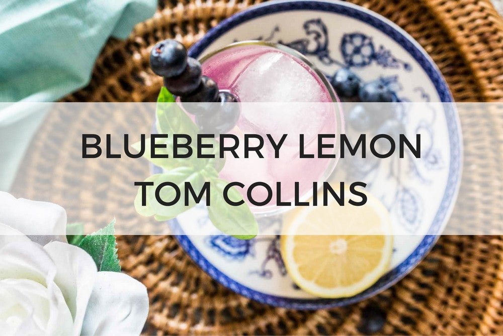 Blueberry Lemon Tom Collins