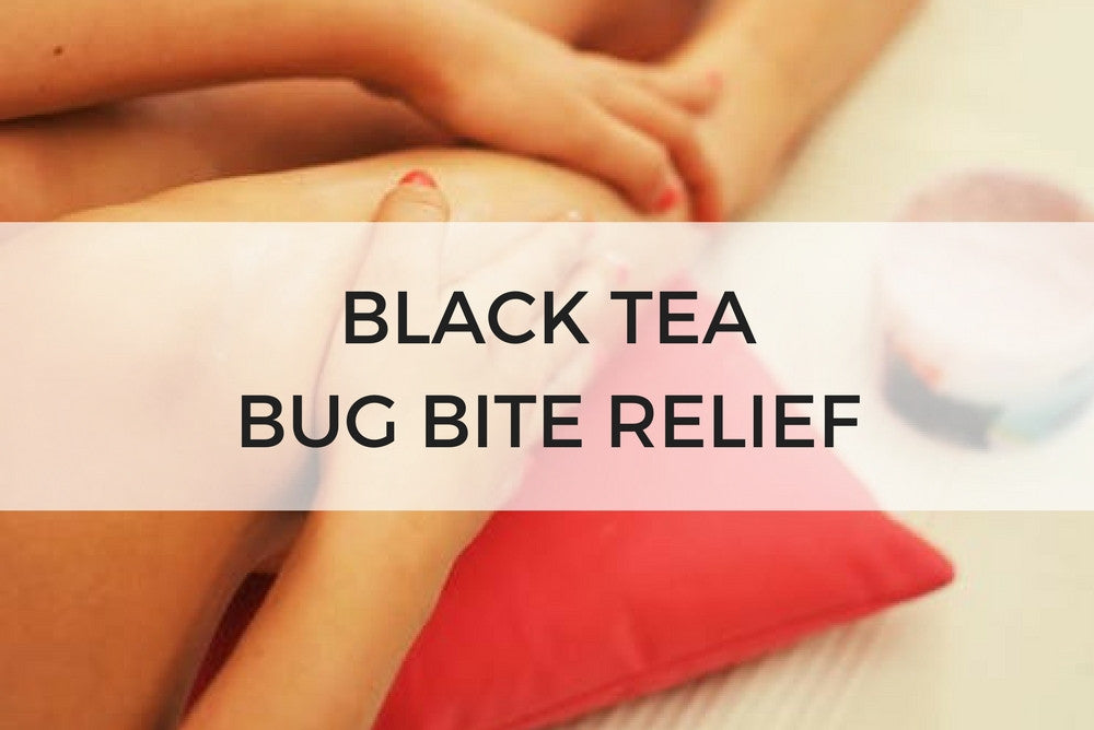 black tea bug bite relief