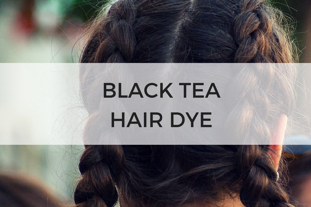 black tea hair dye