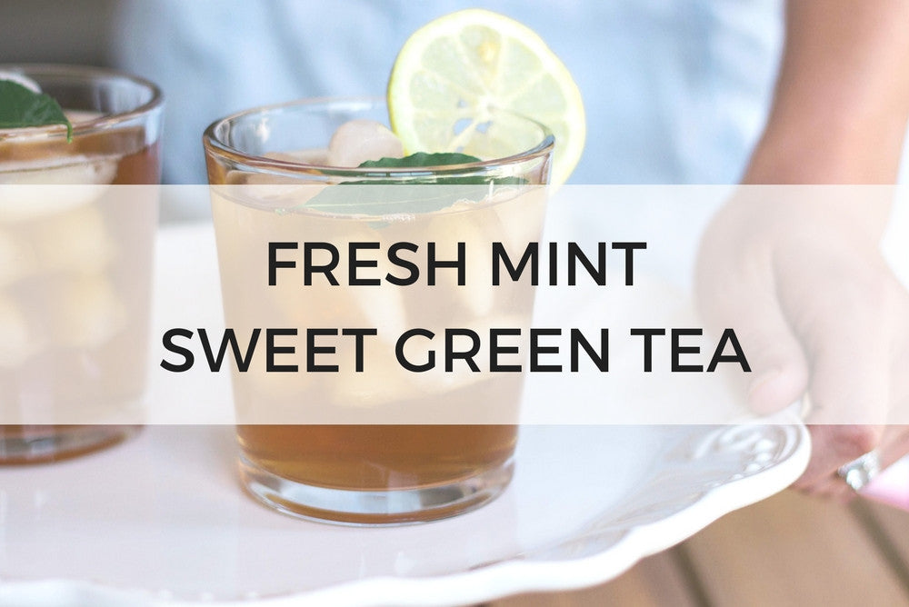 FRESH MINT SWEET GREEN TEA