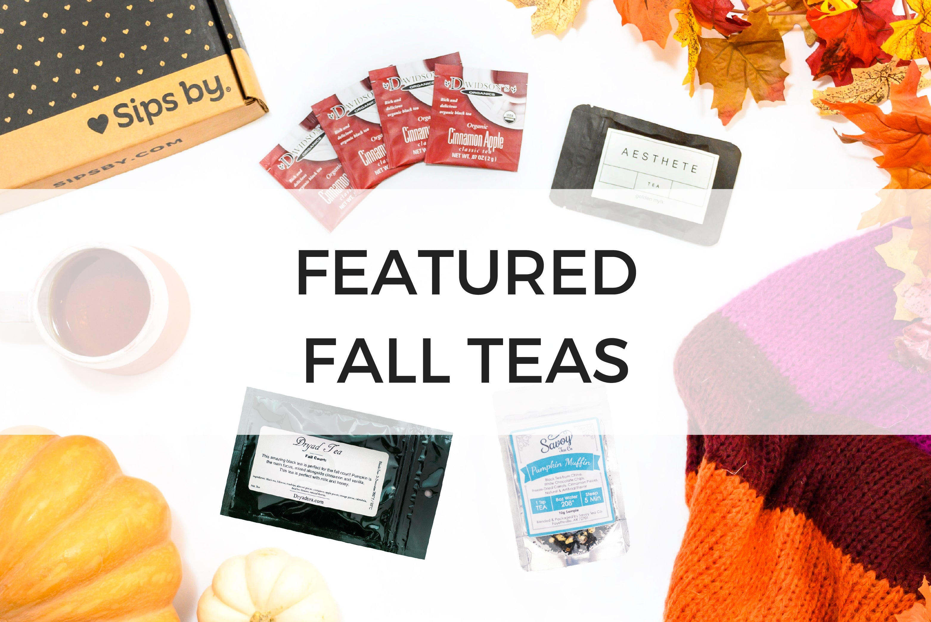 Fall Featured Teas