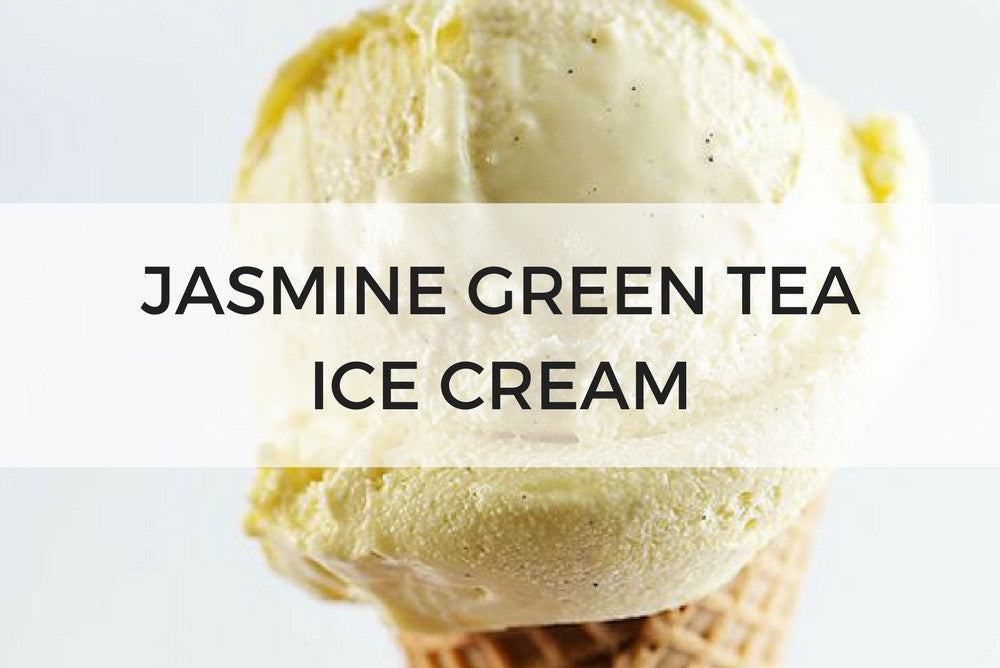jasmine green tea ice cream