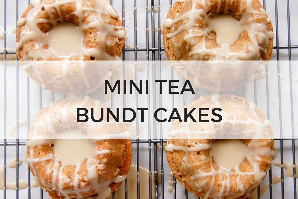mini tea bundt cakes