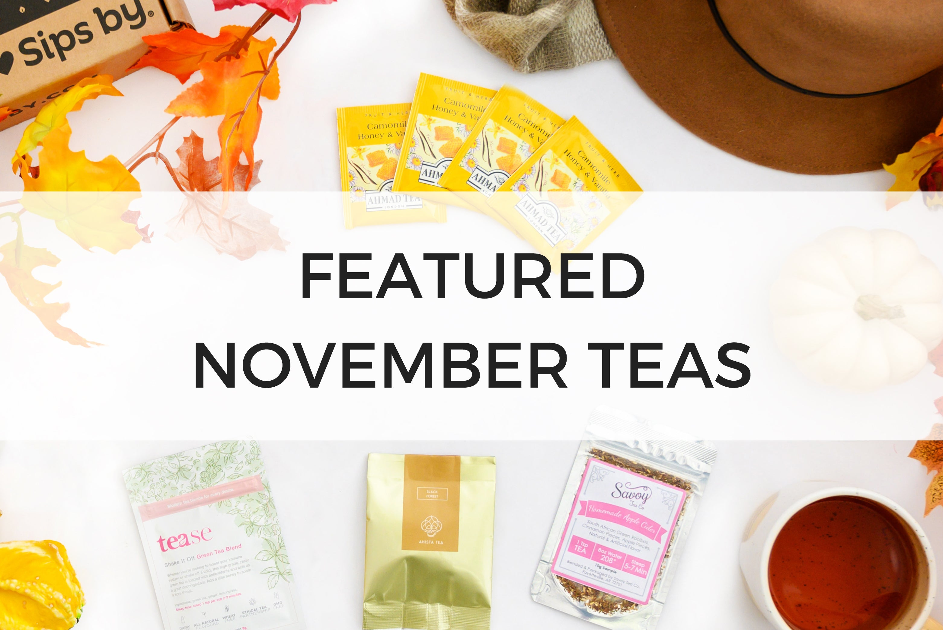 November Featured Teas