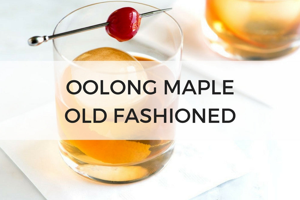 Oolong Maple Old Fashioned