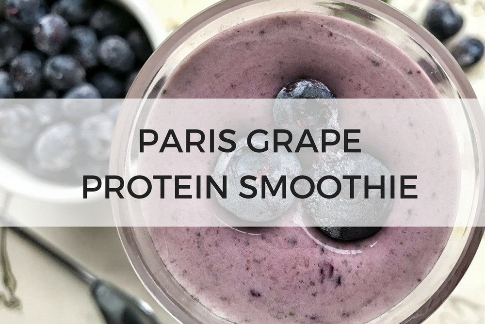 Paris Grape Protein Smoothie