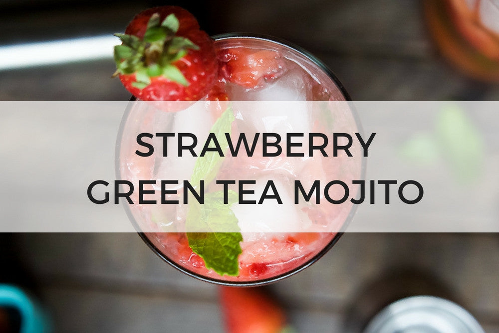 Strawberry Green Tea Mojito