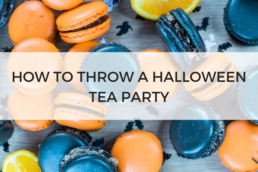 How to Throw a Halloween Tea Party