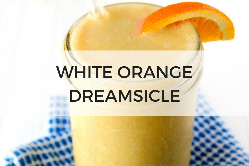 White Orange Dreamsicle