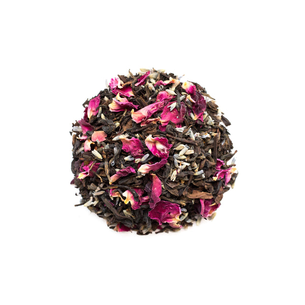 lavender bloom black tea sips by udyan tea loose leaf caffeinated