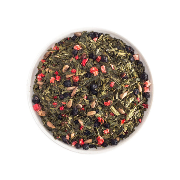 Pomegranate Strawberry Green Tea