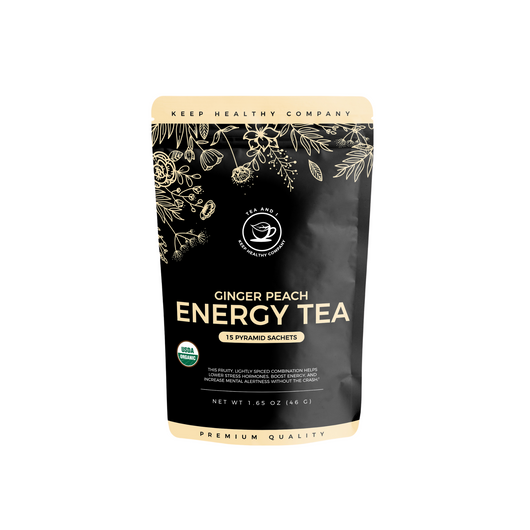 Ginger Peach Energy Tea