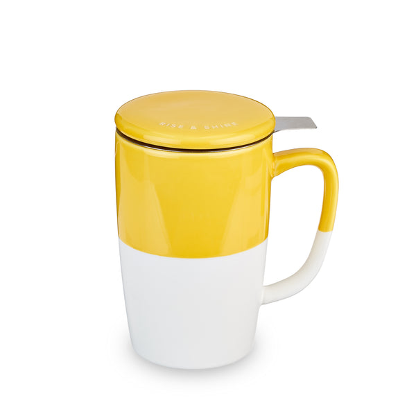 Morning Tea Mug with Infuser